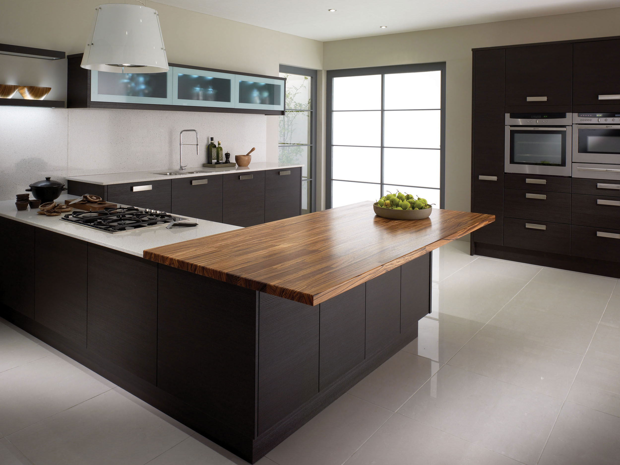 Fenton wenge from eaton kitchen designs wolverhampton for Cuisine wenge