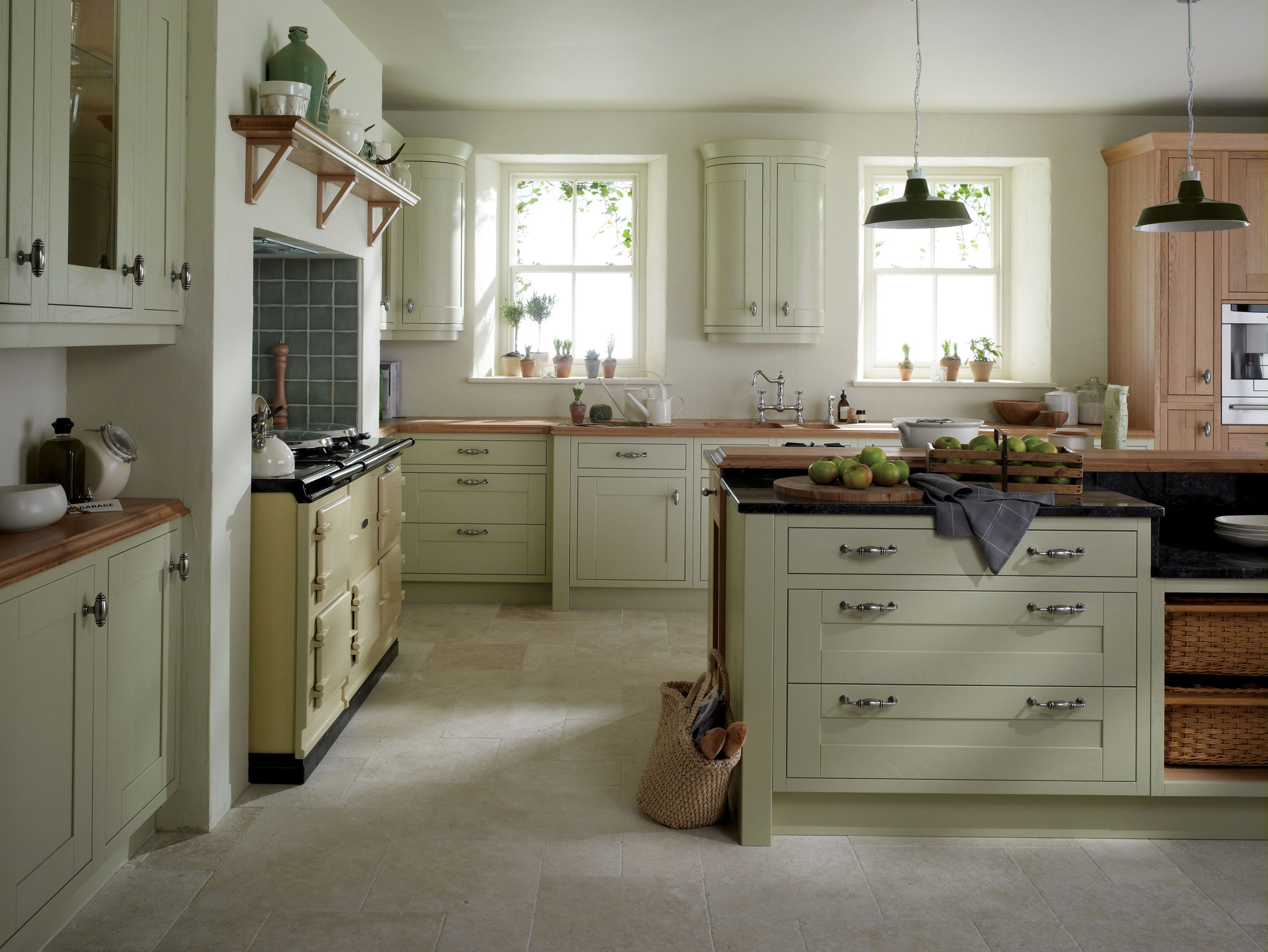 Milton sage from eaton kitchen designs wolverhampton for Period kitchen design
