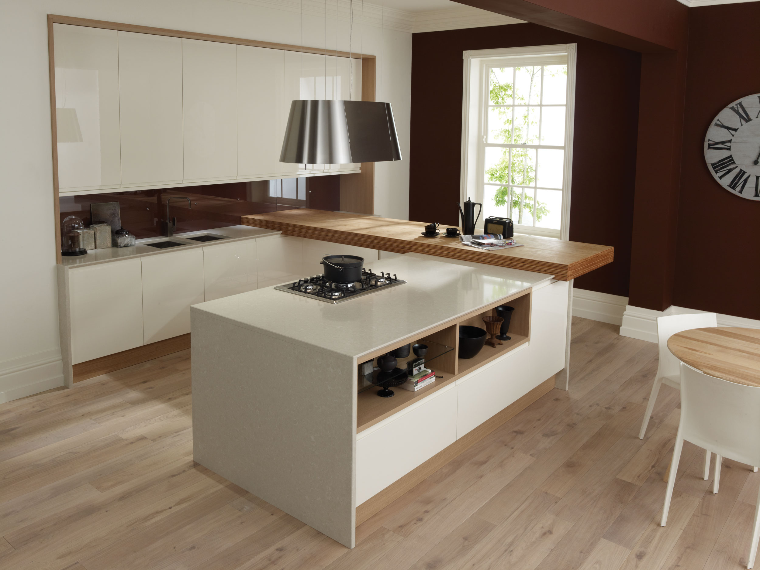 Remo Alabaster Linear From Eaton Kitchen Designs Wolverhampton