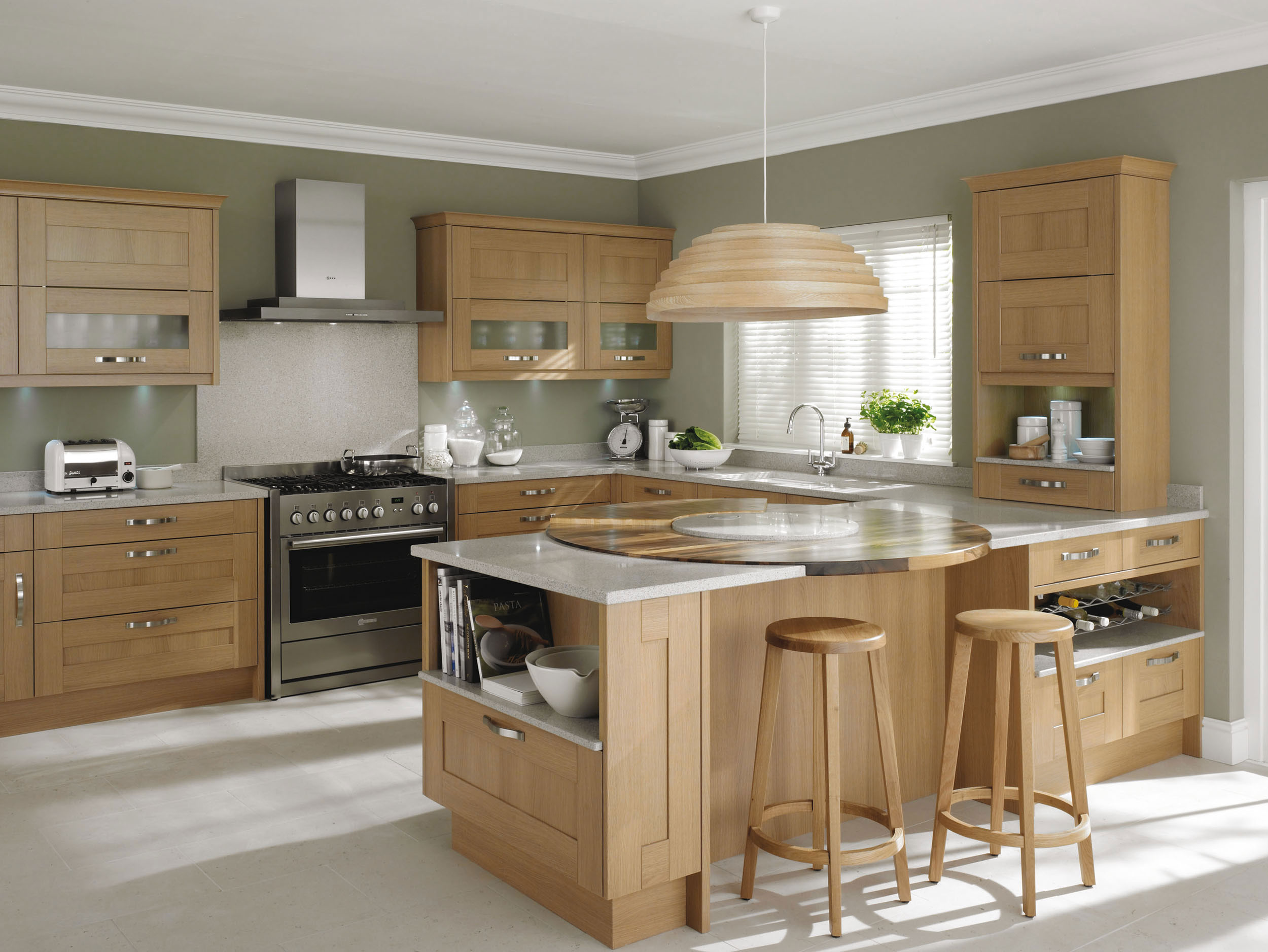 Seton Oak From Eaton Kitchen Designs Wolverhampton